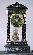 Ebony Empire Clock - circa 1890
