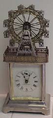 German Ferris Wheel Carriage Clock - Circa 1893