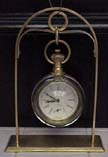German Glass Ball Clock - Circa 1920