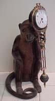 Germany Junghans Monkey Swinger - Circa 1880