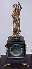 French Mystery Clock - Circa 1870