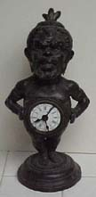 French Pigmy Clock - Circa 1900